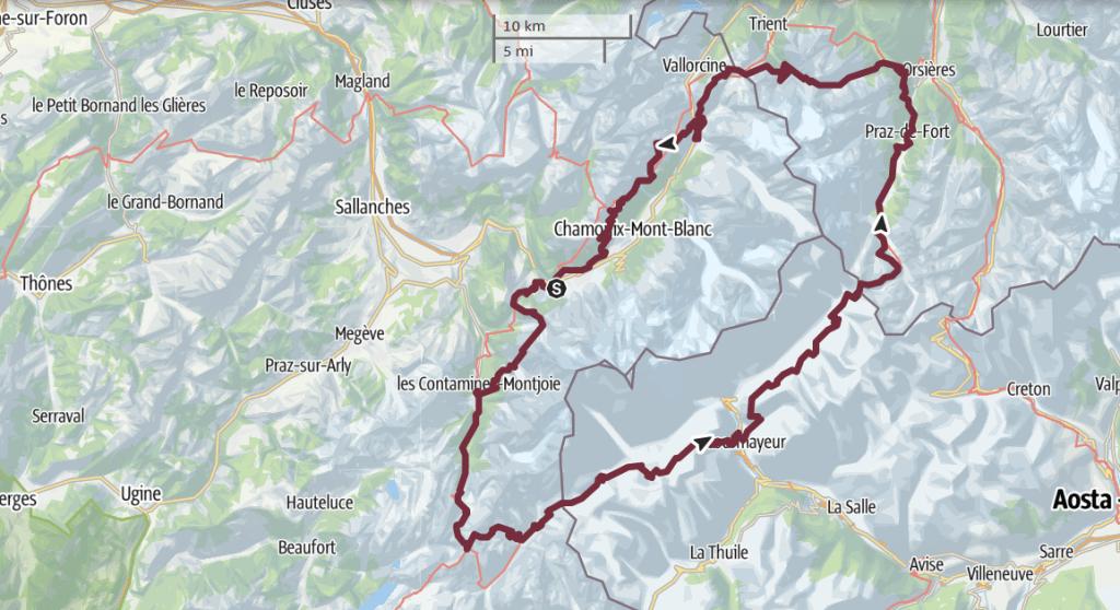 TMB Tour du Mont Blanc