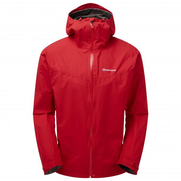 Montane - Pac Plus Jacket - Regenjacke Gr L;M;S;XL;XXL schwarz;rot;blau