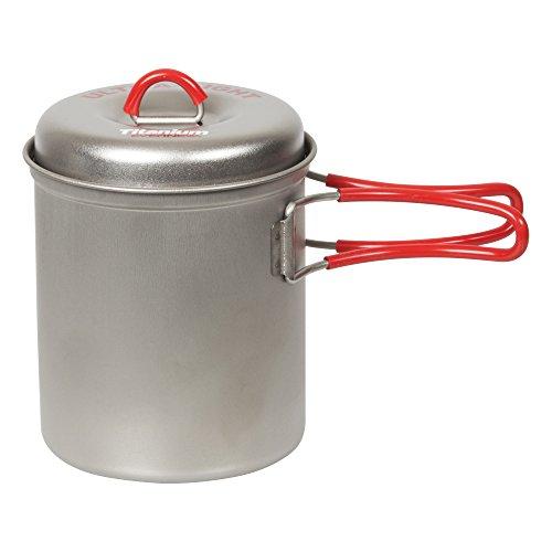 EVERNEW Titanium Ultralight Deep Pot (rot) 0,6 l
