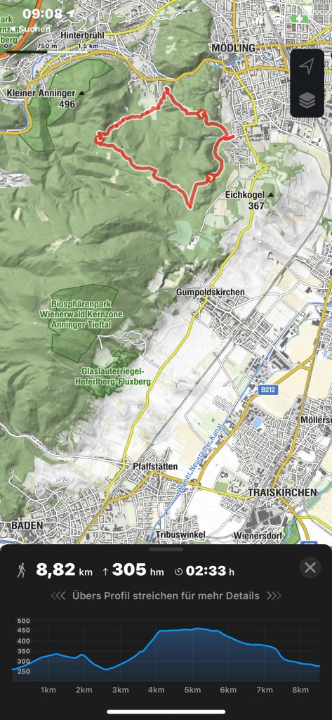 Bergfex-Wander-app